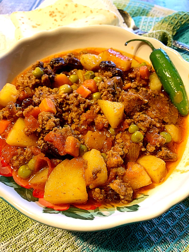 Ground Beef Picadillo, Mexican-Style