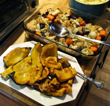 Thanksgiving in pictures: plenty of roasted squash