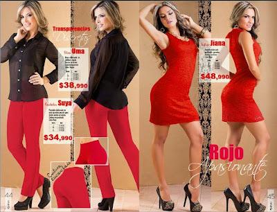 pantalon y vestido rojo de napoli C-17-01-15