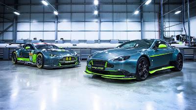 Kereta Sport Aston Martin Vantage GT8 Limited Edition