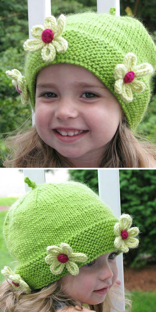 Daisy Chapeau - Free Knitting Pattern