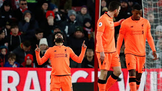 Sport: Liverpool now two points behind second-placed Manchester United