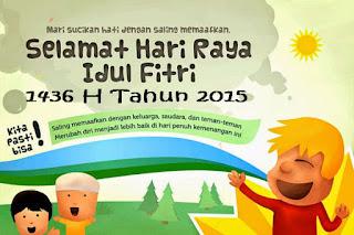 Gambar DP BBM Selamat Idul Fitri Terbaru 2015