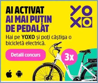 castigatori concurs yoxo bicicleta electrica