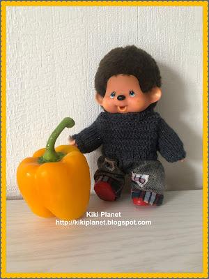 kiki Monchhichi halloween humour