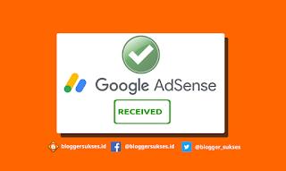 Cara Cepat Blog Diterima Google Adsense