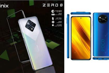 Infinix Zero 8 VS POCO X3 NFC Indonesia