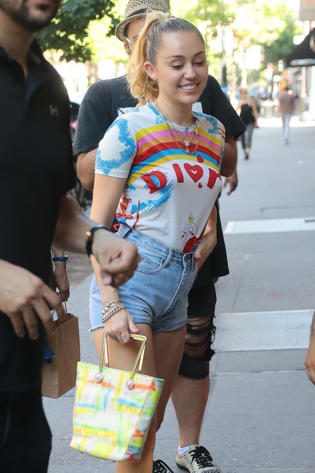 Miley Cyrus Pokies Out in New York