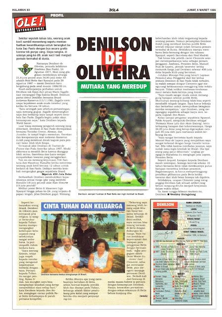 DENILSON DE OLIVEIRA PROFILE