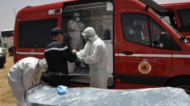 كوفيد 19: 5461 إصابة جديدة بالمغرب و 81 حالة وفاة