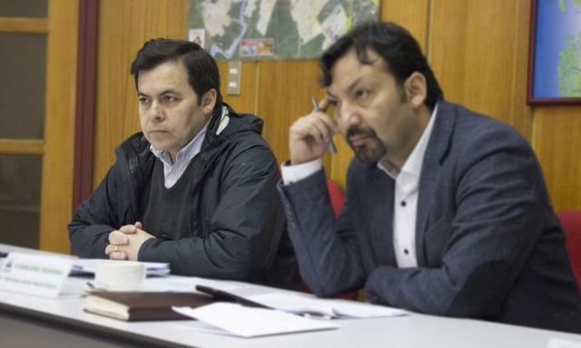 José Luis Rodríguez y Francisco Reyes