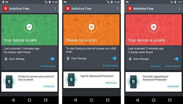 Bitdefender-Antivirus-Free - أفضل برنامج حماية للأندرويد