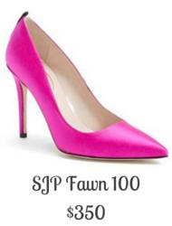 Sydney Fashion Hunter - SJP Fawn 100 Pink Pump