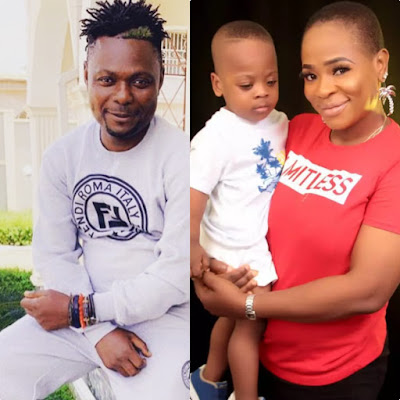 Wife Of Nollywood's Kunle Afod Celebrates As Their Son Turns Two