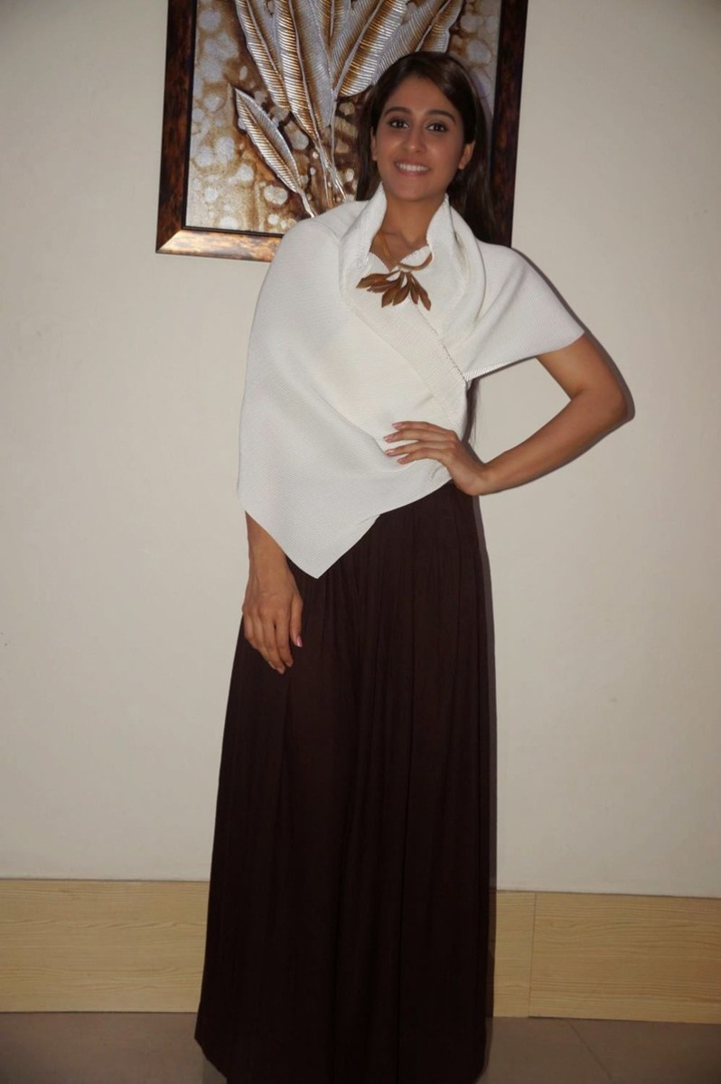 Regina Cassandra Latest Photos In White Dress