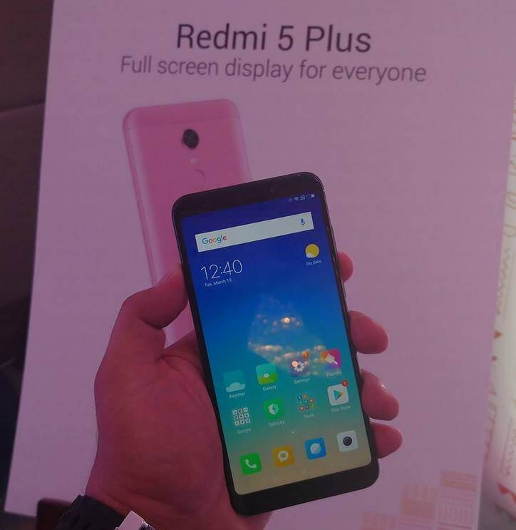Xiaomi Redmi 5 Plus Unveils in PH; 18:9 Display, Octa Core SD625, 4GB RAM, 64GB ROM for Php9,990