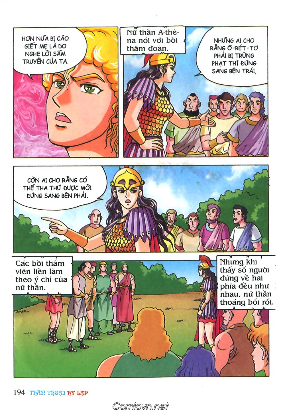 Thần Thoại Hy Lạp Màu - Chapter 71: Nàng Ê lếch tơ 2 - Pic 45