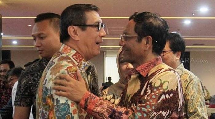 Sebut Pembebasan Napi Sudah Rencana Lama, Mahfud Puji Yasonna Bisa Manfaatkan Virus Corona