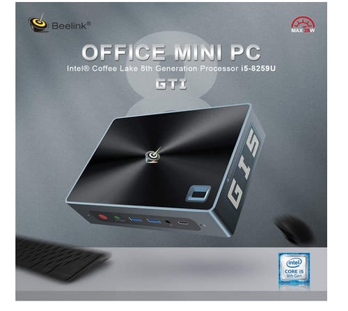 Beelink GTI  High Performance Home and Business Mini PC