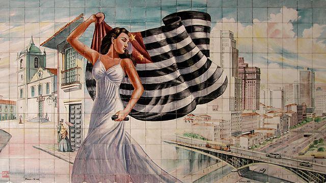 Imagem: mural anônimo na Avenida Paes e Barros, São Paulo-SP