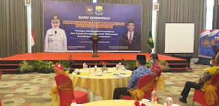 Pj Gubernur Jambi Secara Resmi Membuka Rapat Koordinasi Dukcapil Se-provinsi Jambi
