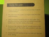 Anwendung: Aiho 50ml USB Auto Aroma Diffuser Mini AD-P3 Aromatherapie Ätherische Öl Ultraschall Luftbefeuchter Humidifier