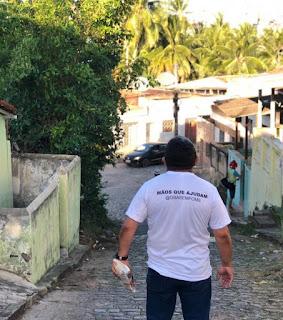 Vereador Nal Fernandes agradece aos moradores do Bairro do Cordeiro em Guarabira  pelo apoio em campanha filantrópica realizada pelo parlamentar.
