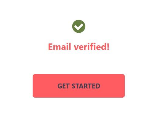 Email berhasil diverify 000webhost