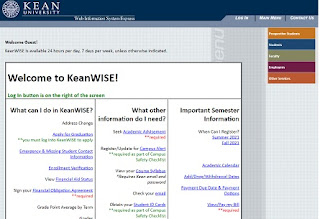 Kean University Keanwise Login