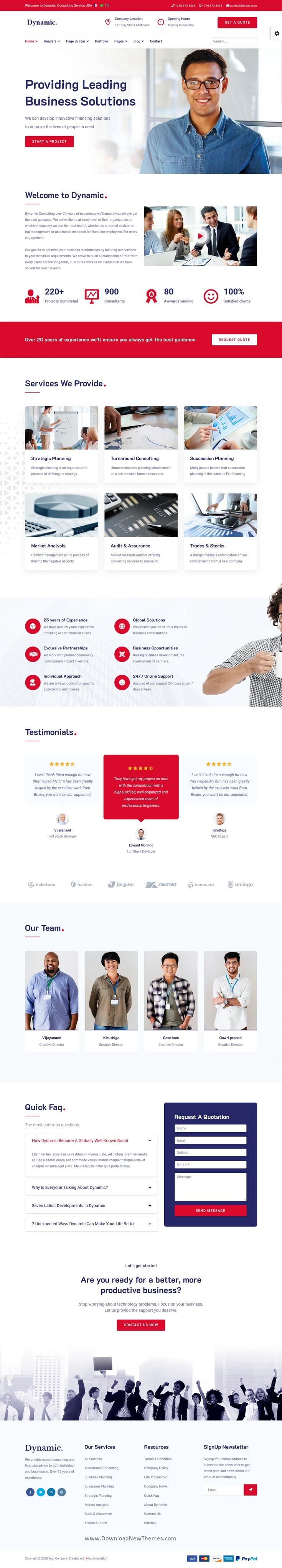 Best Responsive Multipurpose Joomla Template