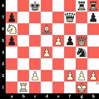 Les Blancs jouent et matent en 4 coups - Paul Van der Sterren vs Carsten Hoi, Tjentiste, 1975