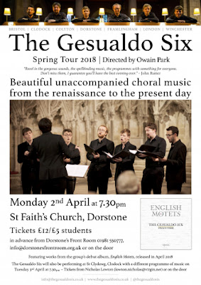 The Gesualdo Six - Passion and Polyphony