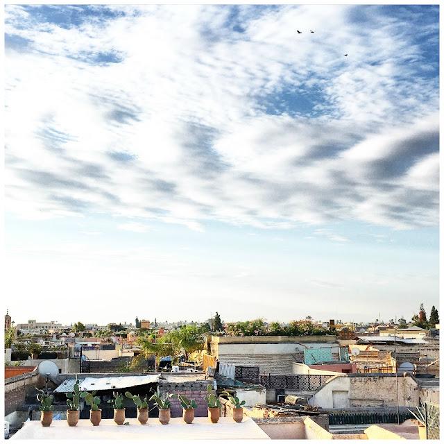 Terrasse /Rooftop / Linge de maison V.Barkowski / Riad Dar Kawa / No-Mad /