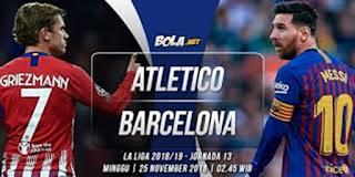 Barcelona Vs Atlentico
