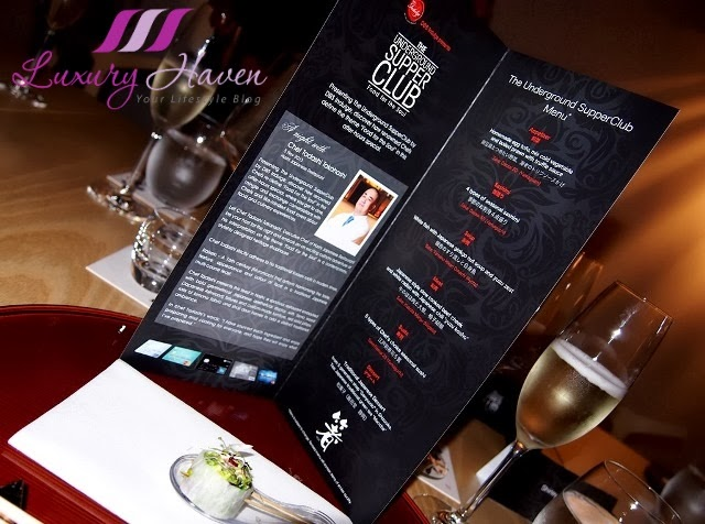 asian food channel dbs underground supperclub events