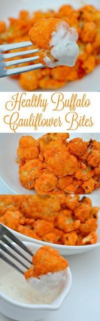 Healthy Buffalo Caulíflower Bítes