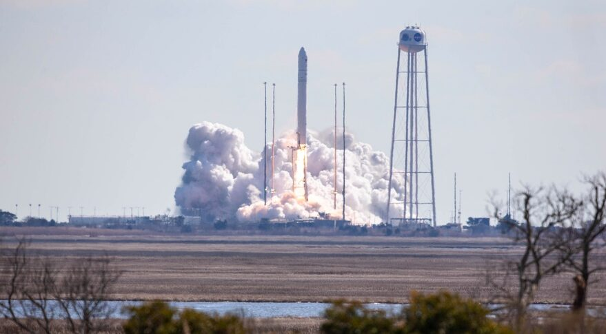 Northrop Grumman Launches Cygnus Cargo Spacecraft