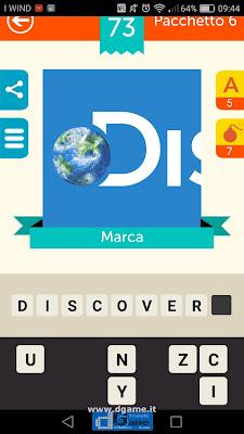 Iconica Italia Pop Logo Quiz soluzione pacchetto 6 livelli 73-100