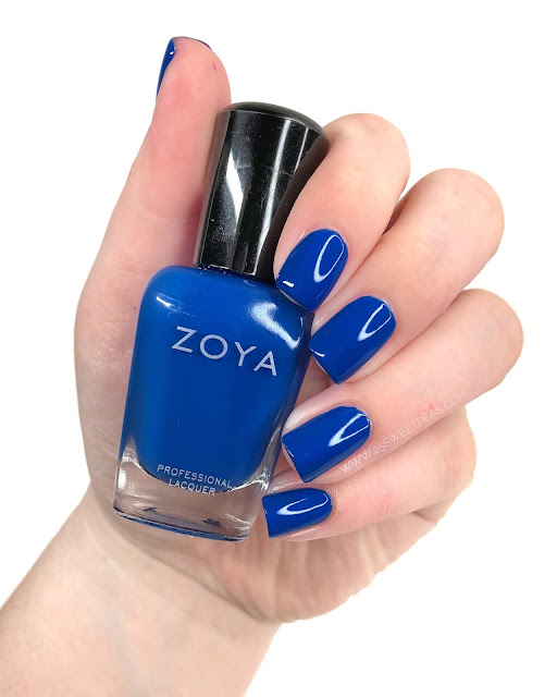 Zoya Walker Swatch 25 Sweetpeas