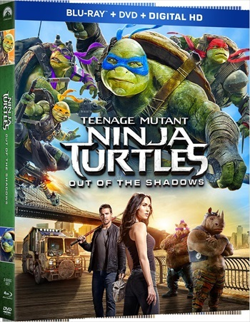 Teenage Mutant Ninja Turtles Out of the Shadows 2016 English Bluray Download