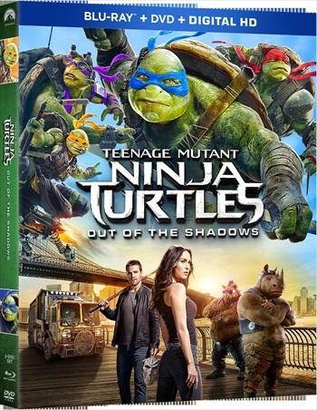 Teenage Mutant Ninja Turtles Out of The Shadows 2016 Dual Audio Bluray Movie Download