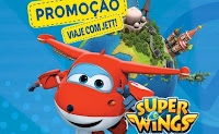 Promoção Viaje com Jett Super Wings Fun viajecomjett.com.br