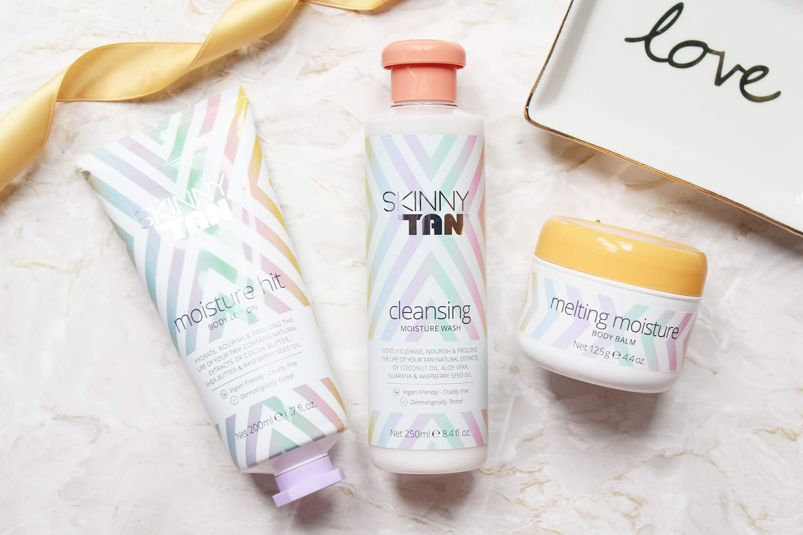 Skinny Tan Body Care Trio