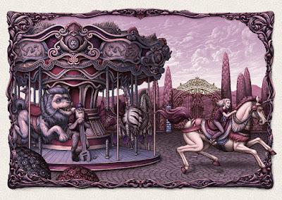 """A Moment of Magic"" Art Print by N.C. Winters"