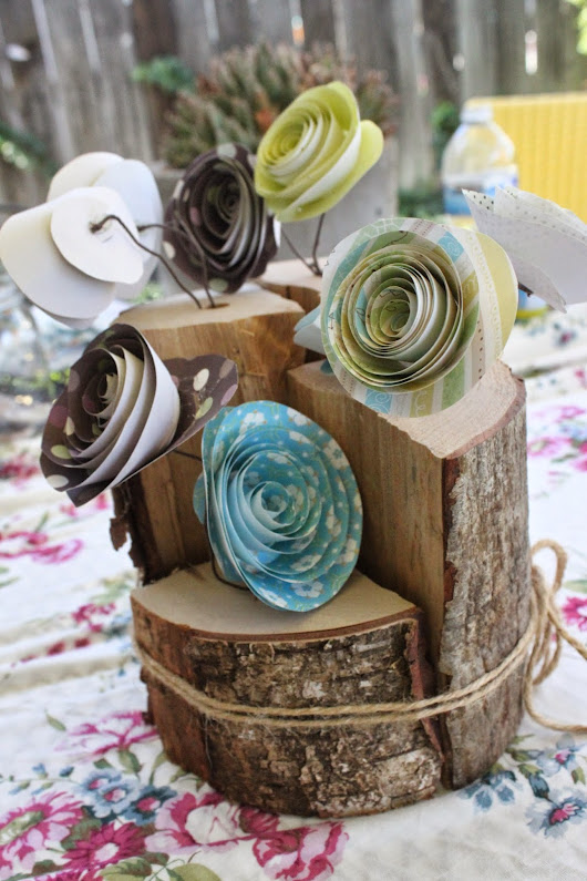 Another DIY gift for Mother's Day~ Rustic Vase