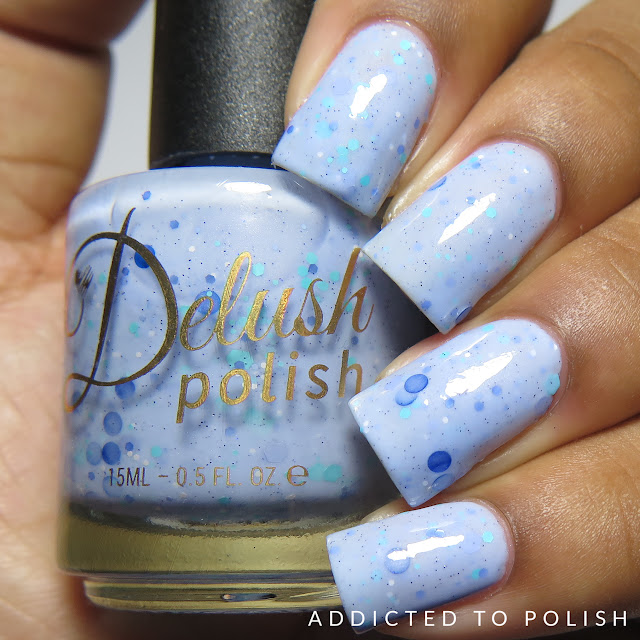 Delush Polish Such a Whish Taker High and Mightea Collection swatches