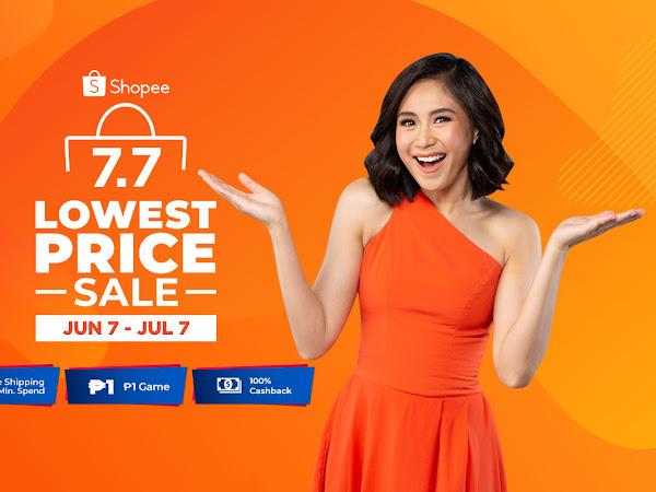 Shopee 7.7 Lowest Price Sale!