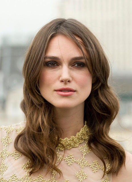Keira Knightley Straight Blonde with Waves