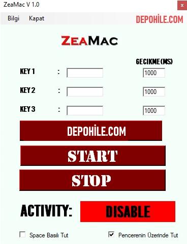 Metin2 Zeamac v1.0 Makro Hilesi İndir Her PVP Çalışıyor 2020