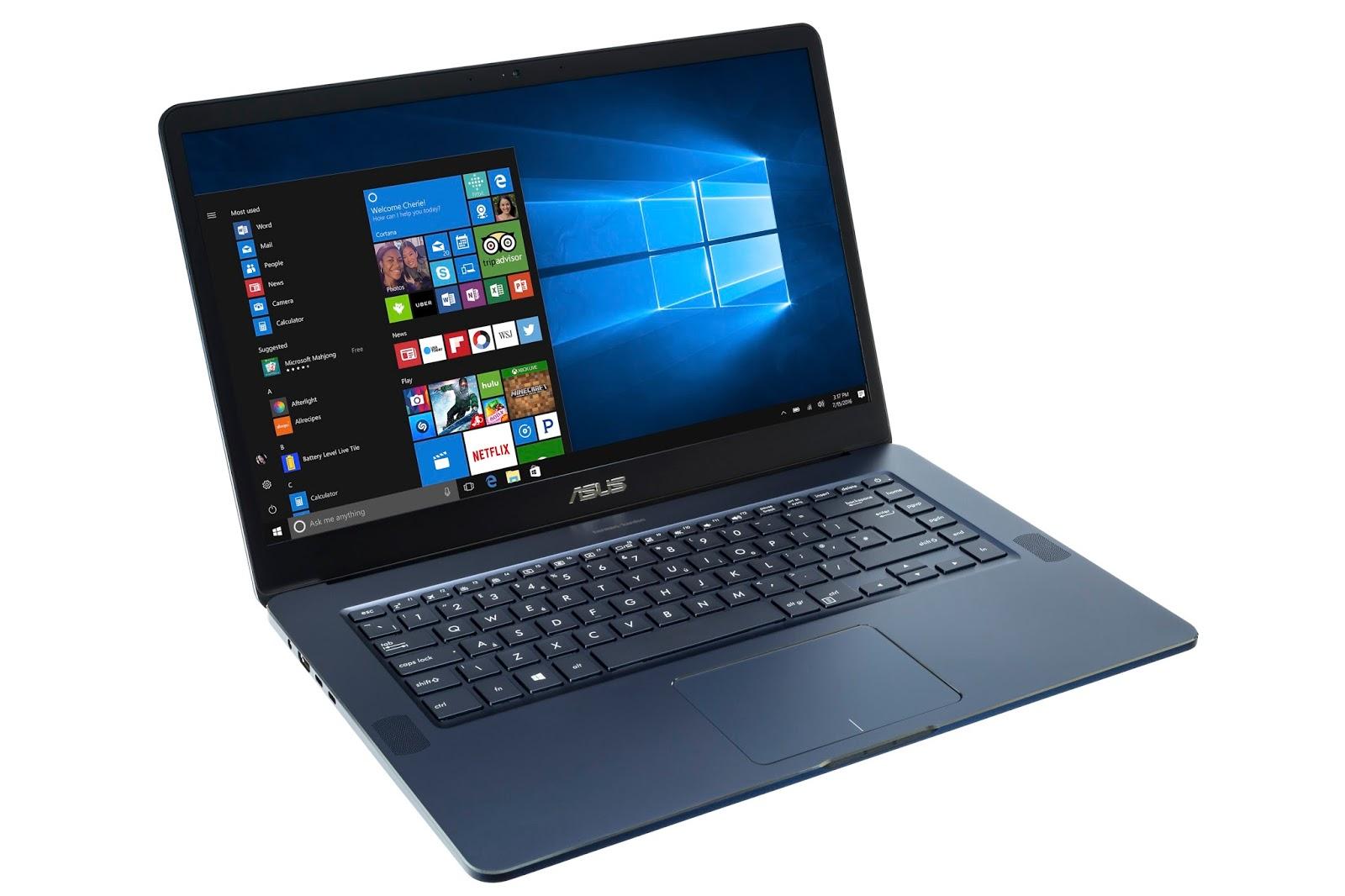 ZenBook Pro UX550 :: AsusPlus